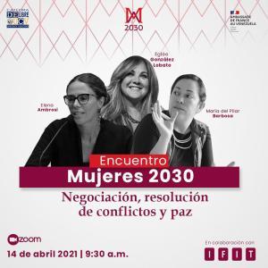 Mujeres 2030: Es Esencial dar perspectiva de género a la negociación
