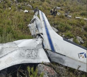 Restos datan de tres a cuatro meses: Hallan osamenta humana tras siniestro de una avioneta entre Barinas y Trujillo (FOTOS)