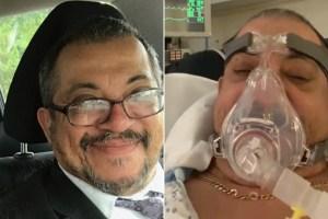 Hospitalizado por Covid-19 en Nueva Jersey semanas después de haberse vacunado