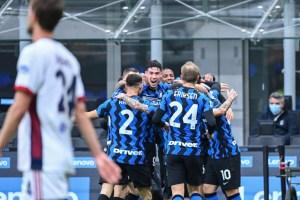 El Inter sufre pero logra ante el Cagliari su onceava victoria consecutiva