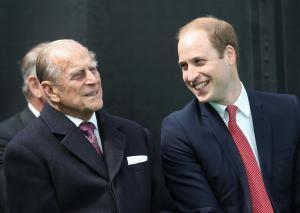 ¡No se vale llorar! La emotiva promesa que le hizo el príncipe Guillermo a su abuelo Felipe, duque de Edimburgo