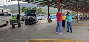 Terminal de pasajeros en San Antonio del Táchira presta servicio este #12Abr (fotos)