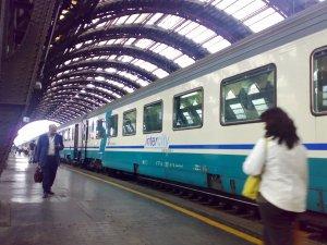 """Negativo para coronavirus: Llega el primer tren """"libre de Covid-19"""" para pasajeros en Italia"""