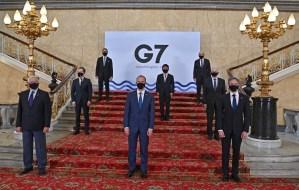 El G7 finalizó sus debates con críticas a China, Rusia e Irán