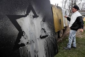Ataque artístico: Exfrancotirador israelí dispara pintura y transmite mensaje sobre salud mental