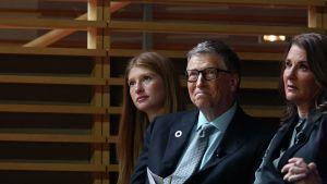 Jennifer Gates rompió el silencio tras el anuncio del divorcio de sus padres