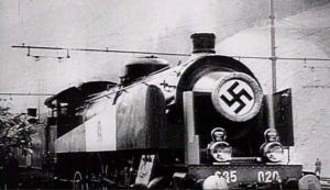 """Cómo era """"Amerika"""", el imponente tren de Hitler con misiles antiaéreos (Fotos)"""
