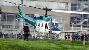 Denunciaron que un helicóptero de la Policía aterrizó en un colegio de Bogotá
