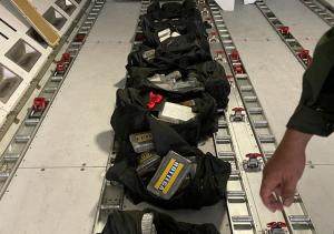 Incautaron 124 panelas de cocaína en un vuelo que saldría de Maiquetía a Lisboa