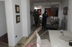 EN VIDEO: Así fue la violenta explosión dentro de un apartamento en Valencia