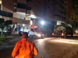 Explosión dentro de un apartamento causó alarma en Valencia (Fotos y videos)