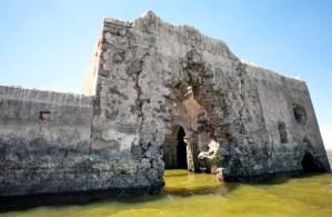 Hallazgo en México: Sequía dejó al descubierto una iglesia que estuvo 40 años sumergida