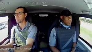 Nervios de acero: El impactante momento en que un conductor de un carro de valores frustró un atraco en Sudáfrica