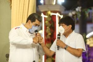 """Evo Morales despotricó contra """"el imperio"""" desde un congreso chavista en Caracas"""