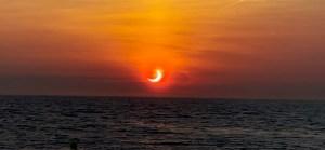 Así fue el primer eclipse anular del año: Fue visible en el Hemisferio Norte, desde Europa hasta Canadá