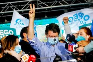 La centroizquierda gobernará en Santiago de Chile y la mayoría de regiones