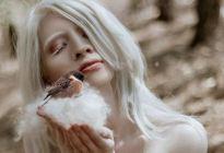Ruby Vizcarra, la modelo albina que aprendió a abrazar su condición