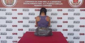 Fue detenida por la GNB una mujer que cultivaba matas de marihuana en Puerto Cabello