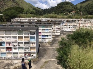Delincuencia, santería y destrucción: Así se encuentra el Cementerio Municipal de Valencia