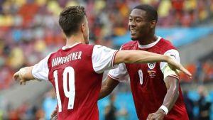 Austria clasificó a octavos de final de la Eurocopa por primera vez