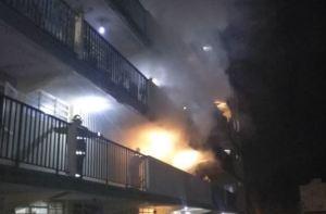 Reportaron incendio de un apartamento en Los Teques este #13Jun (Video)