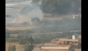Constante humareda en el Círculo Militar de Mamo causa incertidumbre en Vargas (VIDEO)