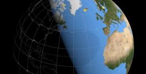 La Nasa publica una visualización del paso por la Tierra del eclipse solar del próximo #10Jun
