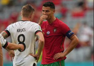 Kroos reveló el diálogo que tuvo con Cristiano Ronaldo tras el triunfo de Alemania