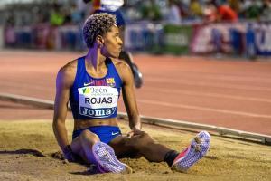 Yulimar Rojas bate el récord de Venezuela en salto largo (VIDEO)