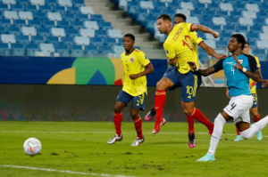 Con un golazo de Cardona, Colombia le ganó a Ecuador en Copa América (Video)