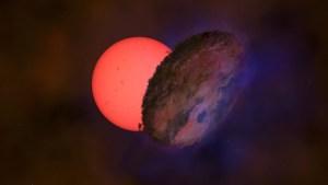 Explicaron extraño parpadeo de una estrella gigante cerca del centro de la galaxia