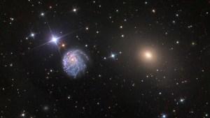 Telescopio Hubble captó una galaxia espiral inusualmente retorcida (Foto)
