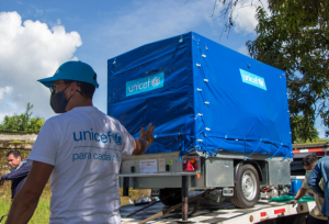 Unicef instaló potabilizadora de agua para casi dos mil familias en Apure (Fotos)