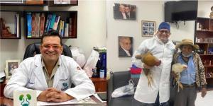"""Anciano """"le pagó"""" una cirugía a un médico regalándole dos gallinas en Bolivia"""