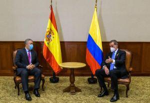 Duque se reunió con el Rey Felipe VI de España y abordaron la situación en Venezuela (FOTOS)