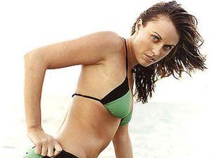 Amanda Beard, la atleta olímpica estadounidense que posó desnuda para Playboy