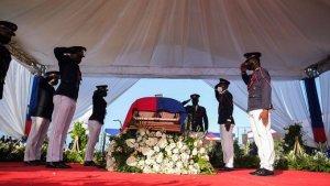 Sepultaron al asesinado presidente haitiano Jovenel Moïse