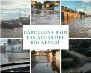 Omar González: Río Neverí se desbordó y la incapacidad inunda a Barcelona