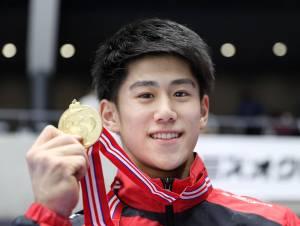 Daiki Hashimoto, el campeón olímpico de gimnasia más joven, hereda la corona de Uchimura