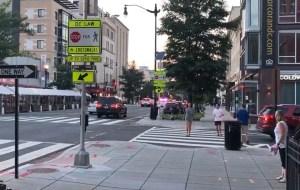Al menos dos heridos tras un tiroteo cerca de un restaurante en Washington (VIDEO)