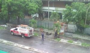 Explosión de tanquilla dejó sin electricidad por varias hora a habitantes de Guarenas