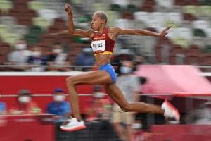 Yulimar Rojas, un salto hacia la gloria: Conquista el Oro Olímpico para Venezuela (FOTOS Y VIDEOS)