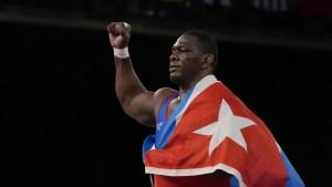 El atleta cubano Mijaín López se convierte en el único luchador en ganar cuatro títulos olímpicos