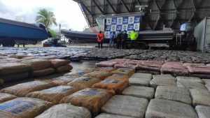 Más de 100 toneladas de cocaína fueron decomisadas en operaciones lideradas por Colombia
