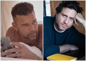 El tierno reencuentro de Édgar Ramírez con Ricky Martin que alborotó a todos