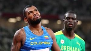 El atleta colombiano, Anthony Zambrano voló y clasificó a la final de los 400 metros en Tokio 2020