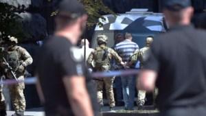 Detenido un hombre que amenazaba con hacer estallar una granada en la sede del gobierno de Ucrania