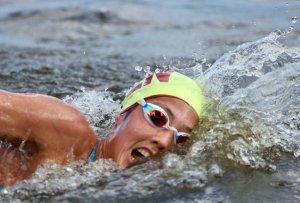 Venezolana Paola Pérez acabó en el puesto 20 en nado olímpico de aguas abiertas