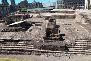 Inauguraron en México nueva ruta en las ruinas del Templo Mayor de los aztecas