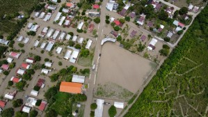 La Fortuna, el pueblo agrícola de Venezuela sumergido bajo el agua por las torrenciales lluvias (FOTOS)